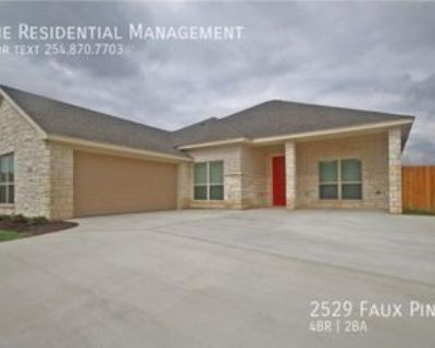 2529 Faux Pine Dr, Harker Heights, TX 76548 4 Bedroom House