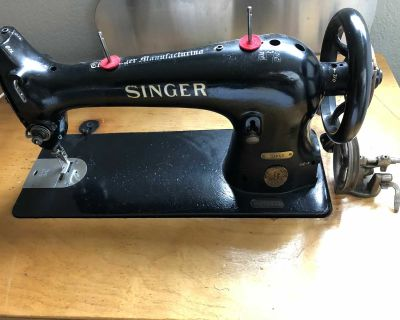 Singer 31k15 smaller scale industrial sewing machine