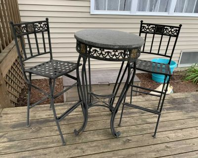 Out door table set