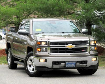 """Used 2014 Chevrolet Silverado 1500 4WD Double Cab 143.5"""" LTZ w/2LZ"""