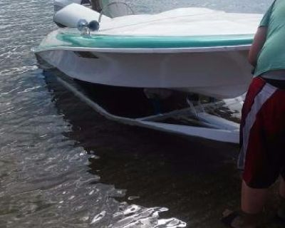 1964 Classic Biesemeyer boat with vintage trailer and motor RARE!!!!!