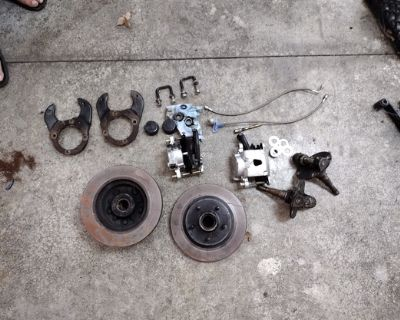 Other Parts - Chevrolet: 57 Chevy Axle Kit
