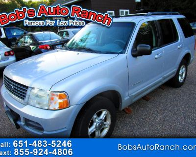 """Used 2002 Ford Explorer 4dr 114"""" WB XLT 4WD"""