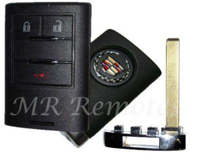 2010 2011 2012 2013 Cadillac Srx Keyless Remote Smart With Key Blade Nbg009768t