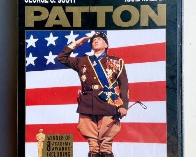 PATTON Dvd 1970 George C. Scott ( Mail It? Paypal it! Click Link Below)