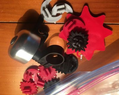 Small bell and bike trinkets
