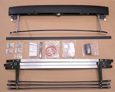 Complete Bus Sunroof Assembly without Rails