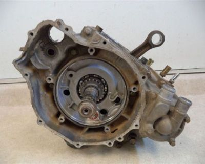 2005 Polaris Sportsman 500 Ho Engine Crankcase Motor Bottom End Crankshaft