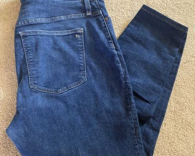 Madewell Curvy High-Rise Skinny Jeans size 34