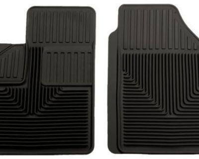 Husky Liners Front Black Floor Mat For 2005-2008 Chevy Uplander