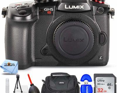 Panasonic LUMIX GH5S Body 4K Digital Camera