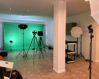 Ultimate Green Room & Video Production Studio Experience, Montclair, NJ