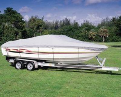 "Seachoice 20'6"" V-hull Ctr Con Boat Cov"