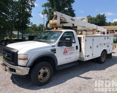 2007 Altec AT37-G on 2008 Ford F550 4x2 S/A Bucket Truck