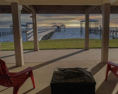 A great relaxing time to be spent on the bay, with multiple areas for outdoor entertaining! - Fairhope