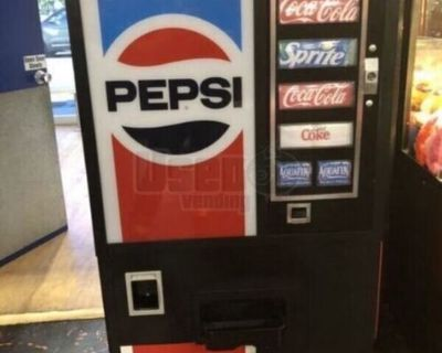 Vintage Dixie Narco Classic Pepsi Soda Vending Machine