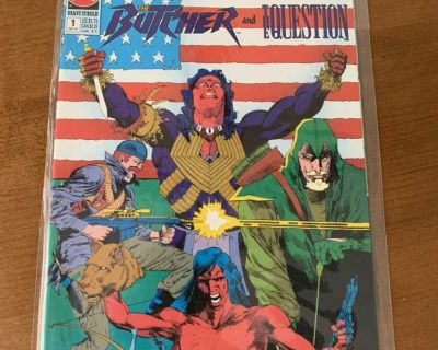 The Brave and the Bold Presents: Green Arrow The Butcher and The Question Comic Book #1