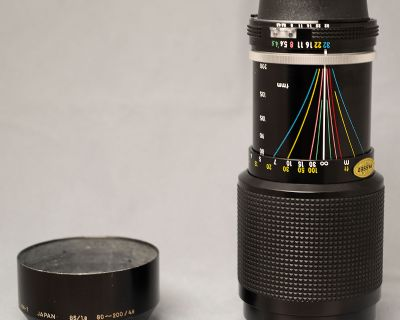 Nikkor 80-200mm f/4.5 AI (New Version) -- $50