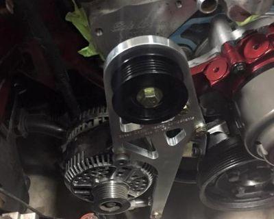 New SN95/94 billet low mount alternator brackets