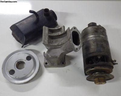 Porsche 912 Generator Pulley Crankshaft Stand Oil