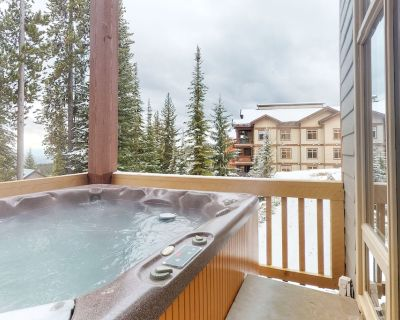 Dog-friendly ski-in/ski-out chalet w/ private hot tub & garage - Snow Pine Estates