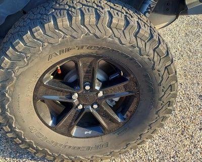 Utah - Set of 5Mopar 18 inch Black Wheels and 35 x 12.5 BFG KO2s