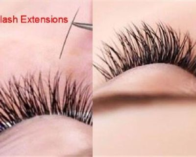 Eyelash Extensions Training and Service