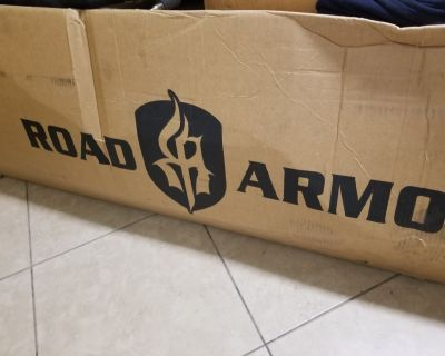 California - New JL 4-Door Road Armor Stealth Side Steps