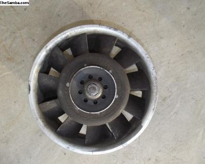 Porsche 911 250 mm Cast Aluminum Fan and Fan Ring
