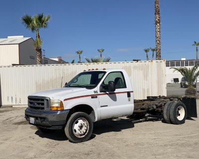 2001 FORD F450 CAB AND CHASSIS #61901211