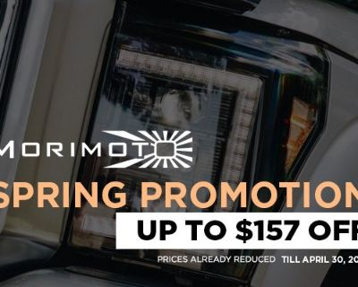 Restyle the front-end of your Mustang with Morimoto Headlights + Promo