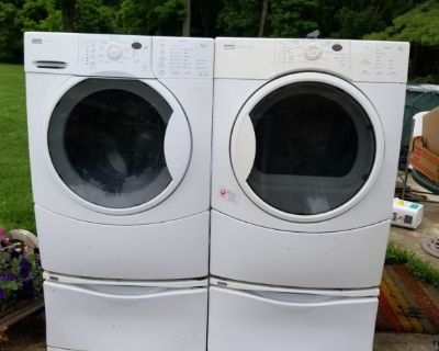 Kenmore washer and dryer front loaders