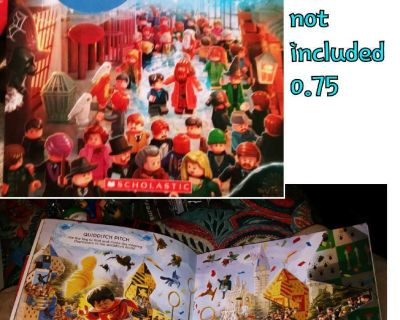 Lego Harry Potter magical search & find activity book