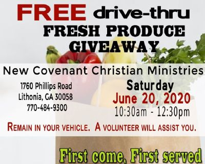 FREE Fresh Produce Giveaway
