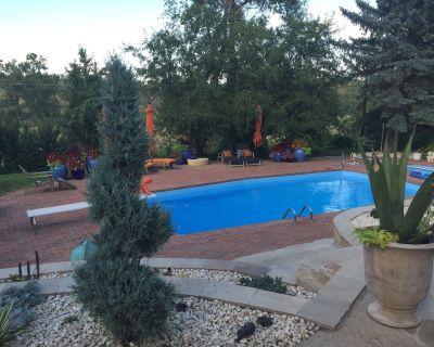 Mediterranean Style Oasis In N Boulder Open Space - Boulder County