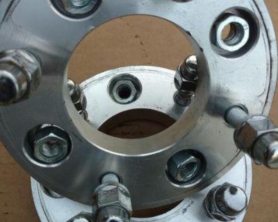 Wheel spacers 4x 130