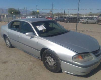Salvage Silver 2001 Chevrolet Impala