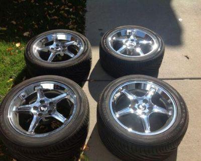 Mustang Cobra R Wheels