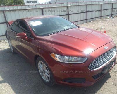 Salvage Orange 2014 Ford Fusion