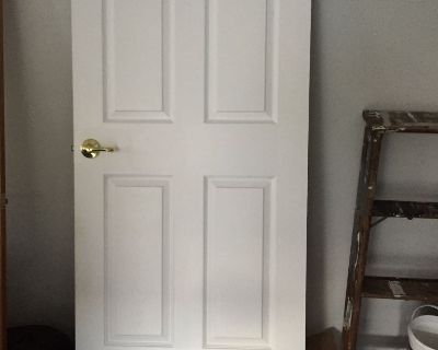 6 panel Inside door opens right to left