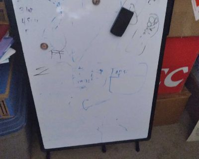 Free Standing Dry Erase Board