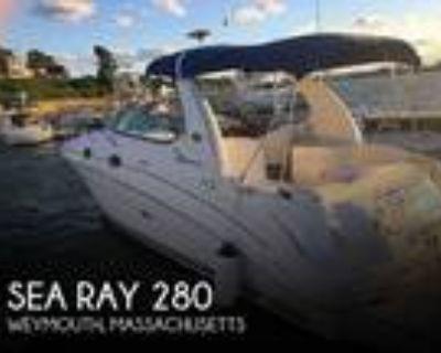 28 foot Sea Ray 280