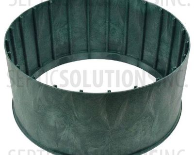 Polylok septic risers (2), HD Cover and Adapter ring