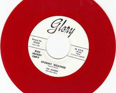 LEADERS ~ Stormy Weather~M-45*RARE RED WAX !