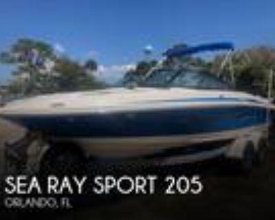 20 foot Sea Ray Sport 205