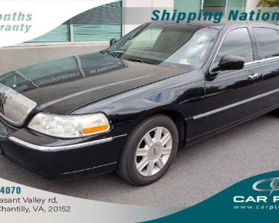 2008 Lincoln Town Car Livery Pkg