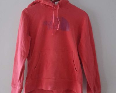 The North Face Red Hooded Pullover Size Medium