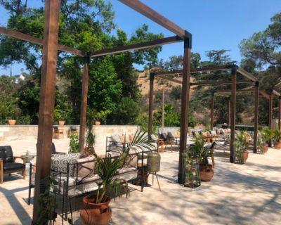 Unique Designer Space with Stunning Natural Backdrops, Pool, Shale Cliffside, Sherman Oaks, CA