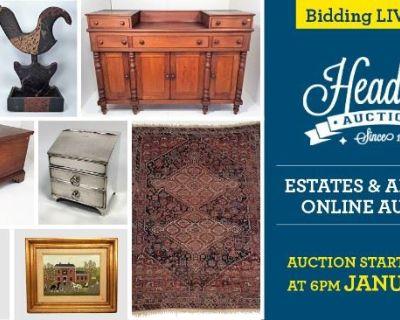 ESTATES & ANTIQUE AUCTION
