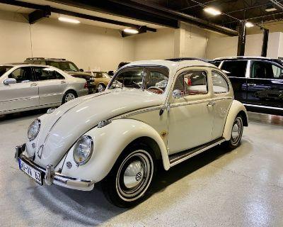 1963 Volkswagen Beetle Ragtop